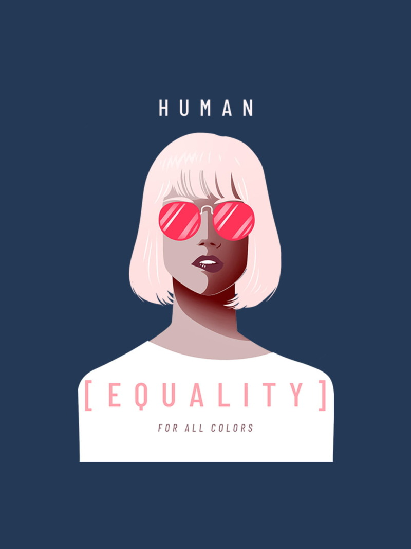 Human Equality For All Color Hoodie 2