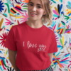I Love you 3000 Calligraphy T-shirt 12