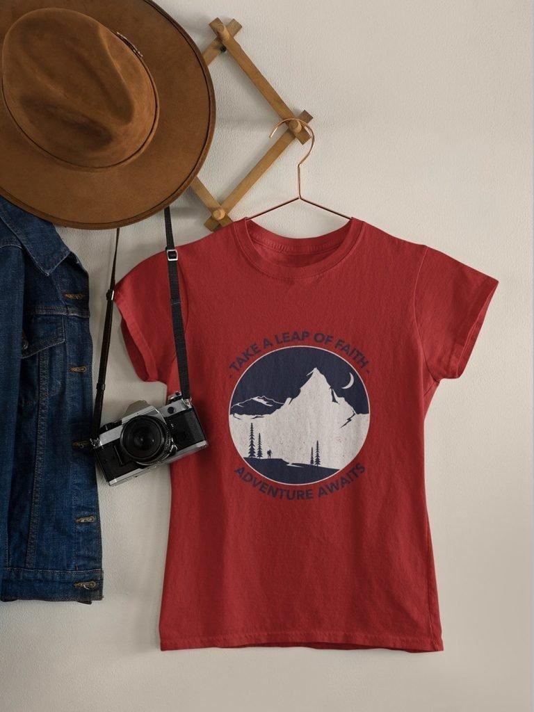 Adventure Awaits Premium T-shirt